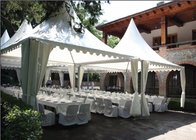 Aluminum Structure Material Pagoda Party Tent Multi Functional Square Shape