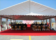 Open Ceremony Outdoor Party Tents With Optional Sidewalls And Decorations