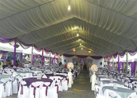 Big Outdoor White PVC Cover Wedding Party Tent for Events Aluminum Alloy Frame