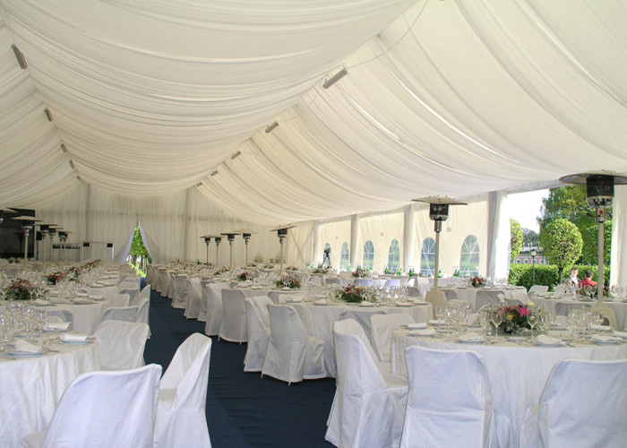 Outdoor Aluminum Frame Wedding Party Tent , Beautiful Wedding Canopy Tents