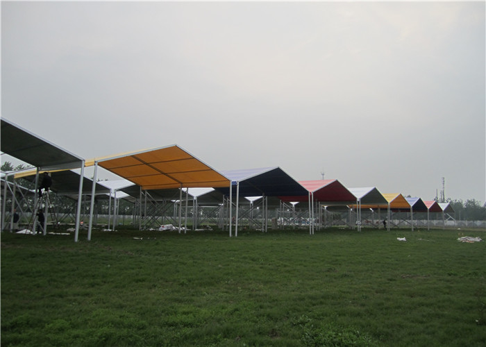 Germany Style Temporary Garage Aluminum Frame Tent Windproof And Rainproof