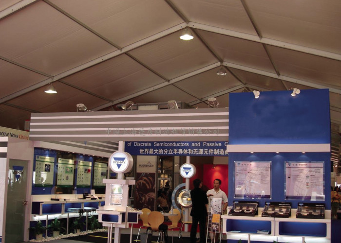 10x20m Heavy Duty Expo Trade Show Canopy Tents With Sides Clear Span Windproof