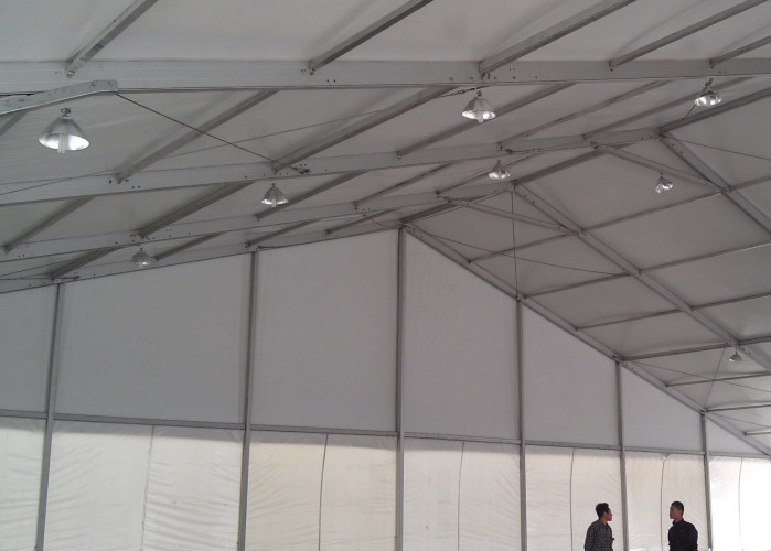Steel Structure Material Giant Marquee Outdoor Event Tent With White Fireproof Cover