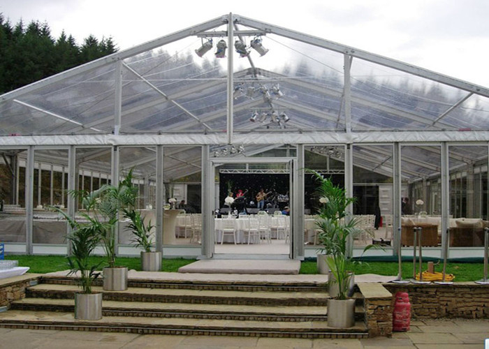 Windproof Wedding Marquee Luxury Party Tents / Clear Span Tent